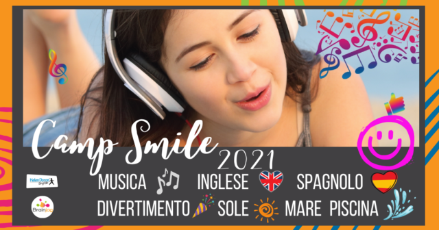 Camp Smile 2021 – The effect of music!